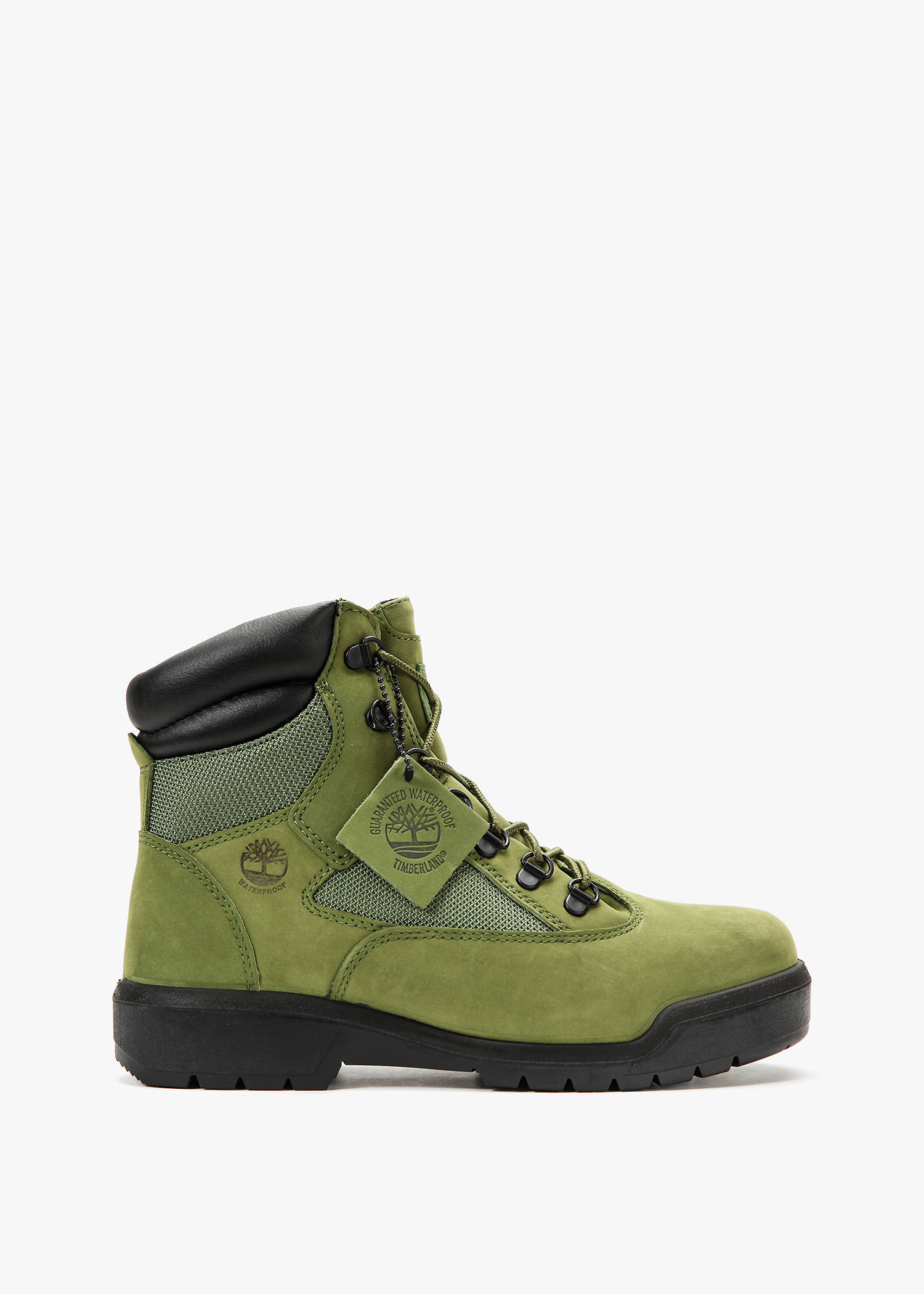 """Timberland 6"""" Field Boot In Wp Green/Pesto"""