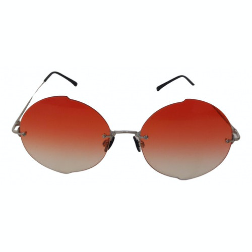 Pre-owned Kyme Orange Metal Sunglasses