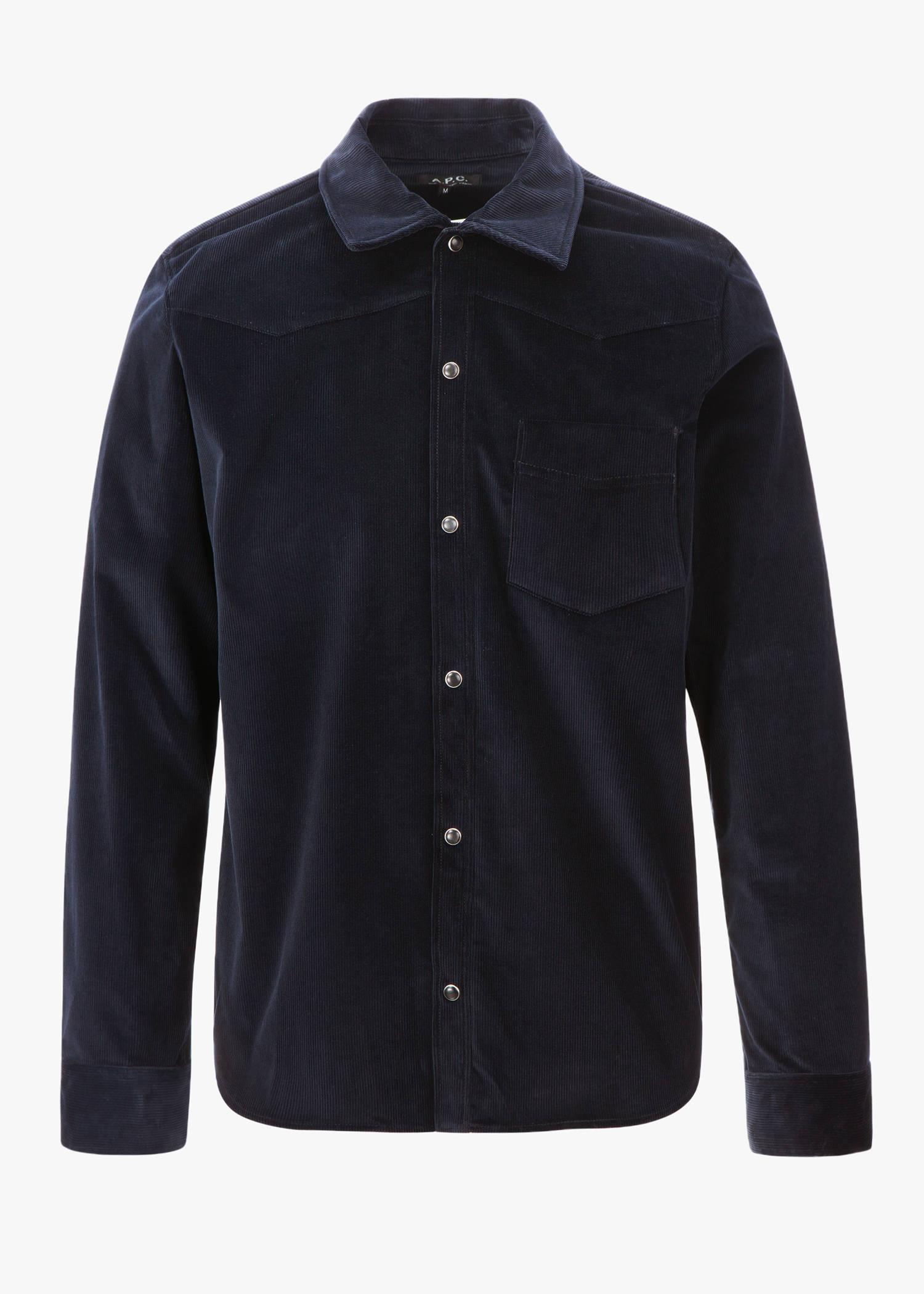 Billy Shirt In Dark Navy Blue