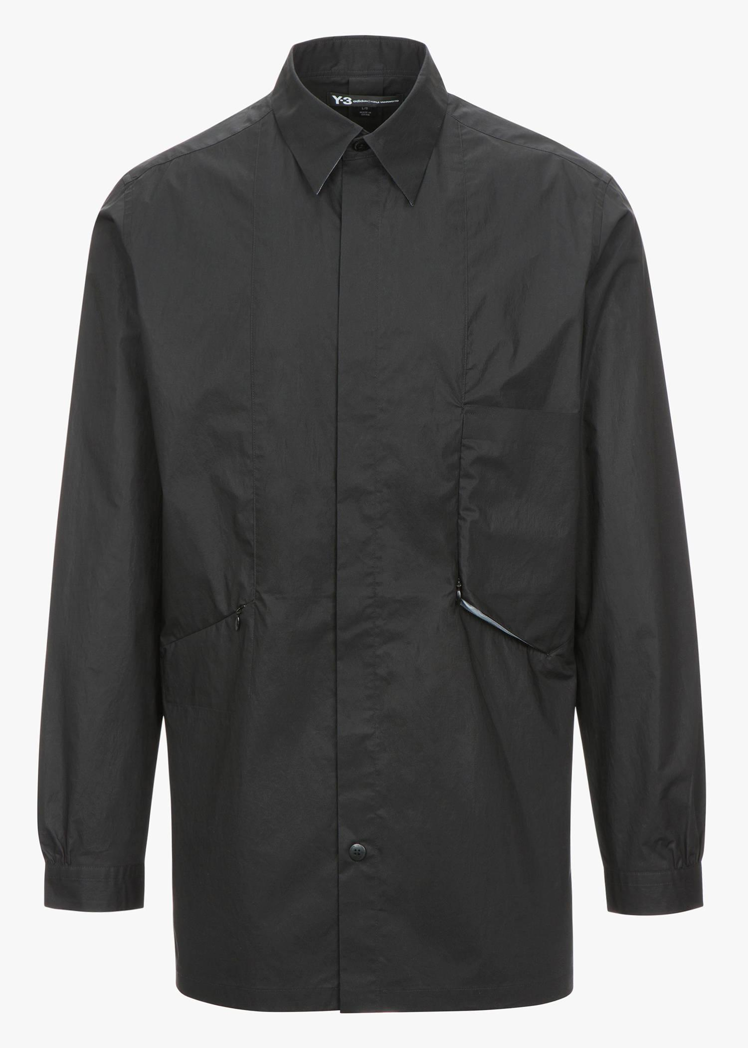 Y-3 Military Space Shirt In Black