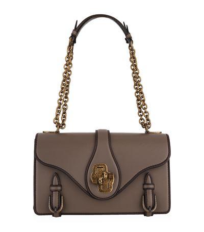 Bottega Veneta Shoulder Bag City Knot Bag In Calfskin In Dark Brown