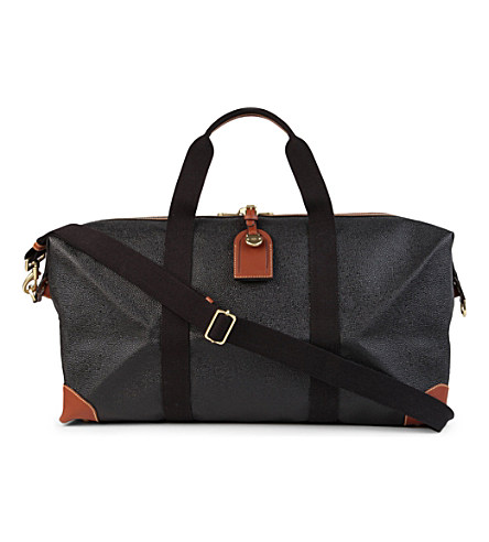 Mulberry Scotchgrain Small Clipper Bag In Black