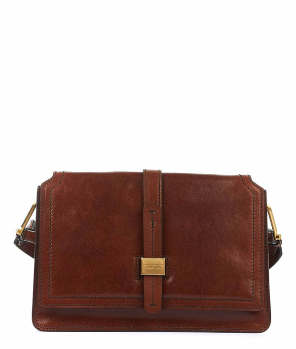 The Bridge Women's Brown Shoulder Bag