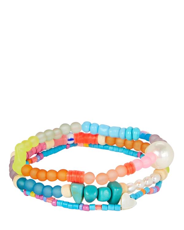 Dannijo Arielle Beaded Bracelet Set In Multi