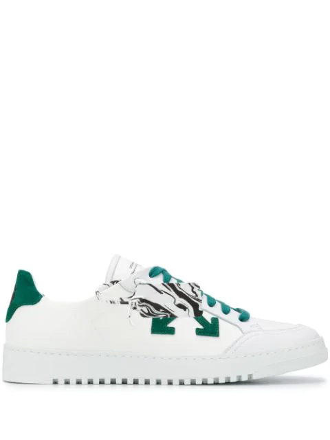 Off-white 2.0 Low-top Canvas Sneakers In White