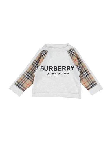 Burberry Kids' Sweatshirt In Light Grey
