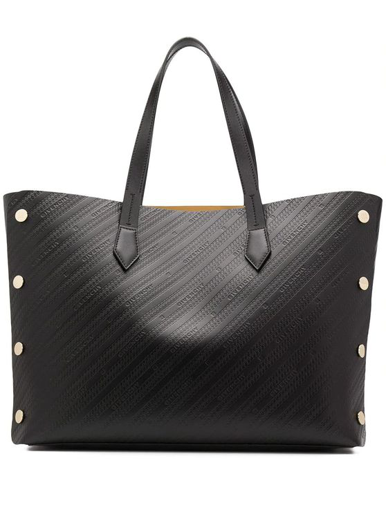 Givenchy Women's Bb50avb0rx001 Black Leather Tote In Nero
