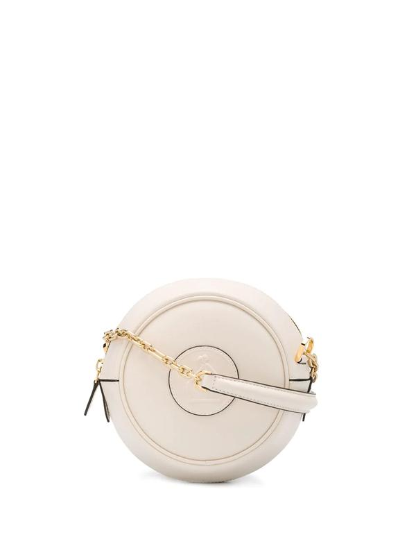 Lanvin Cookie Camera Bag In White