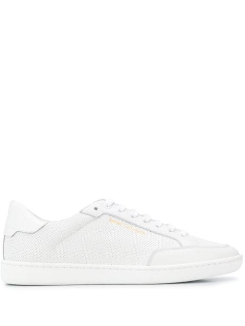 Saint Laurent Court Classic Sl/06 Low-top Sneakers In White