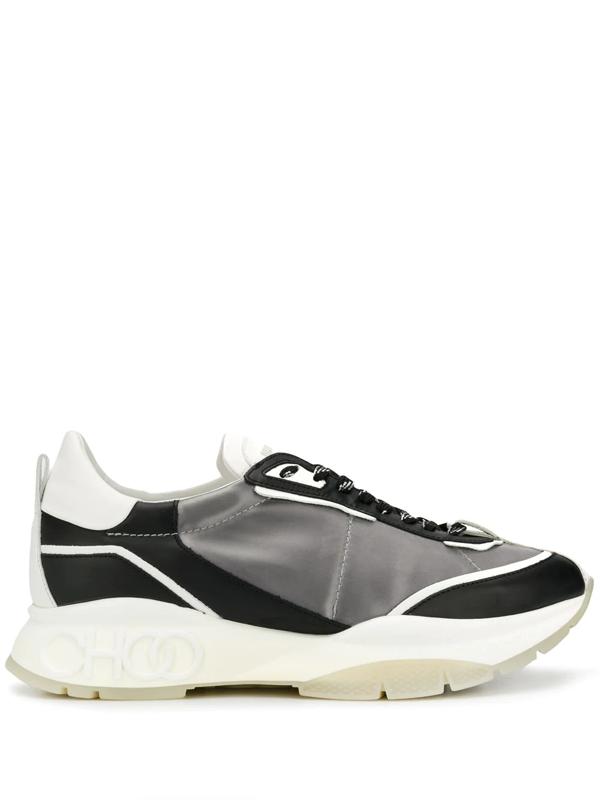 Jimmy Choo Raine Low-top Sneakers In Grey