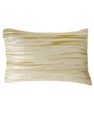 Donna Karan Home Gilded Standard Sham Bedding In Gold