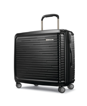 Samsonite Samonsite Silhouette 16 Hardside Garment Bag Spinner In Obsidian Black