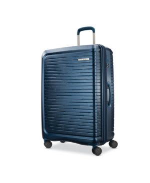 "Samsonite Silhouette 16 29"" Hardside Expandable Spinner Suitcase In Atlantic Blue"