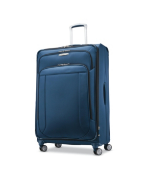 """Samsonite Lite-air Dlx 29"""" Expandable Spinner Suitcase, Created For Macy's In Mediterranean Blue"""