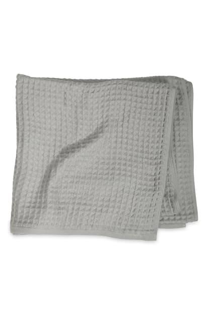 Uchino Air Waffle Bath Towel In Grey