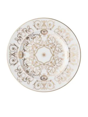 Versace Medusa Gala Bread & Butter Plate In White