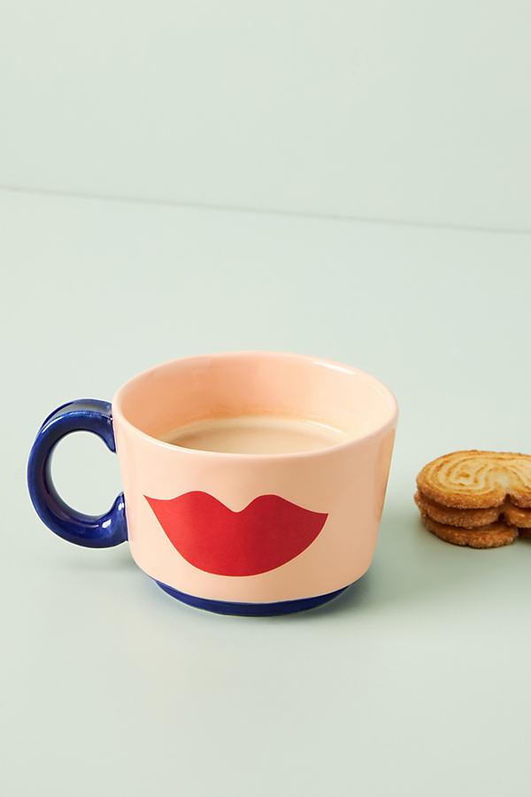 Clare V . For Anthropologie Maisonette Mug By . In Orange Size Mug/cup