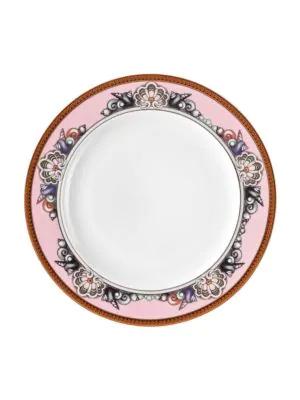 Versace Les Etoiles De La Mer Rim Soup Plate In Pink
