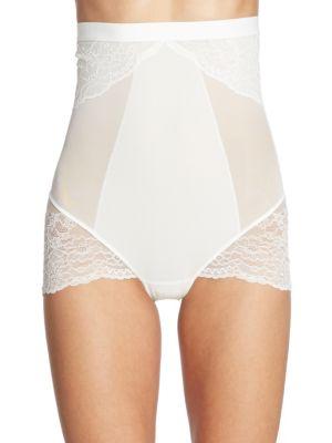 Spanx Spotlight On Lace High-Waist Brief In White