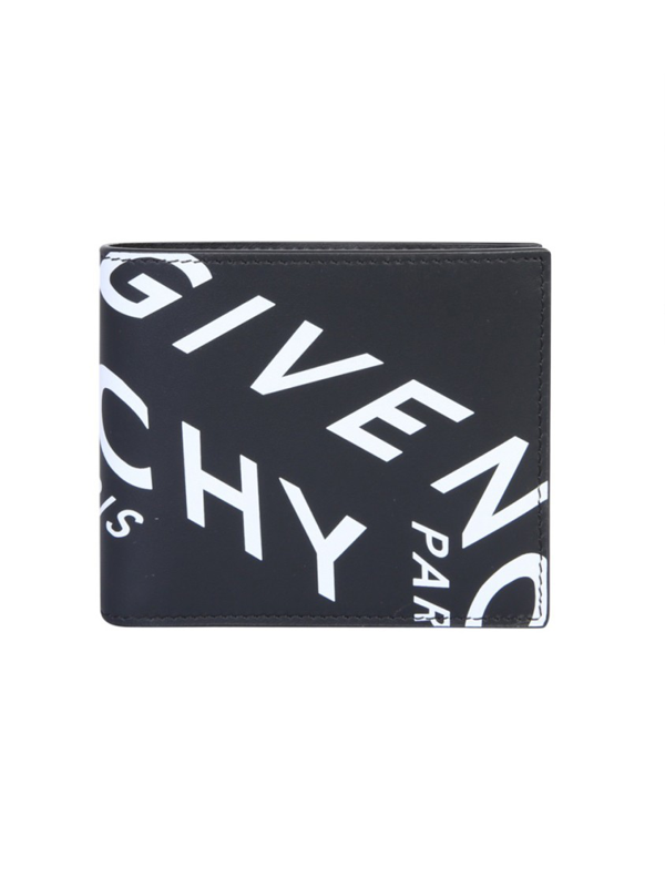 Givenchy Card Holder 3cc Wallet In Black Leather