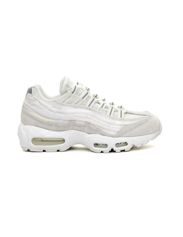Comme Des Garçons White Nike Air Max 95 Sneakers