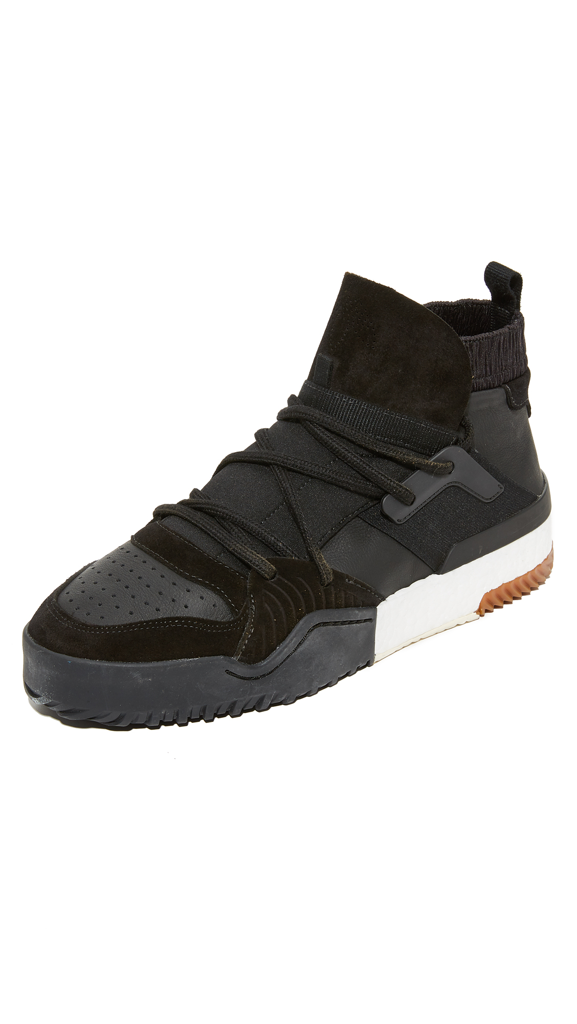 3d087f7c13ab ADIDAS ORIGINALS BY ALEXANDER WANG. Adidas Originals By Alexander Wang Aw  Bball Lo Sneakers ...