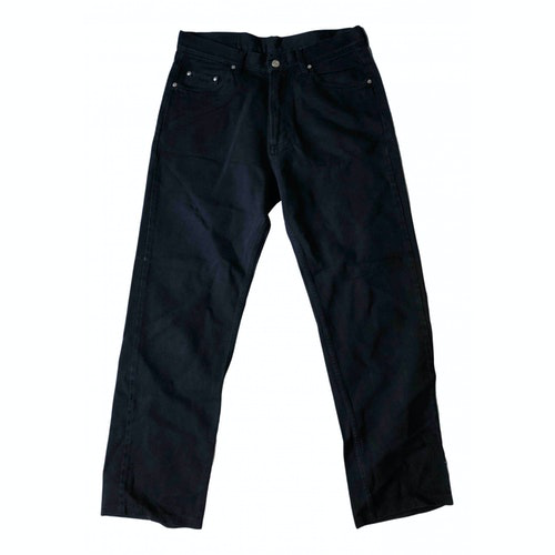 Pre-owned Carrera Black Cotton Jeans