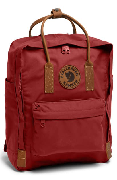 Fjall Raven Kanken No. 2 Small Backpack In Deep Red