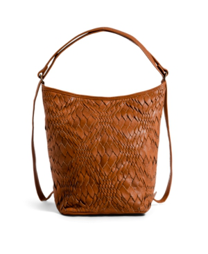 Day & Mood Greta Multi Hobo In Cognac