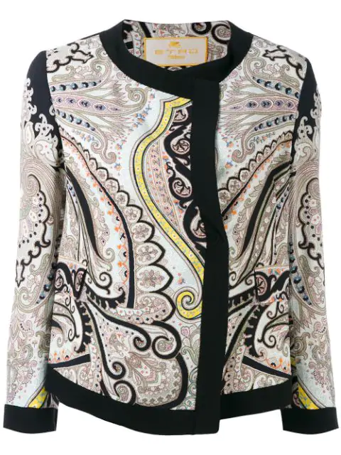 Etro Printed Jacket - Multicolour