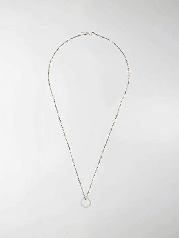 Emanuele Bicocchi Bead Chain Necklace In Silver
