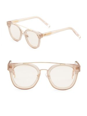 096566d733d3a Gentle Monster Tilda Swinton X Collaboration 60Mm Rounded Square Sunglasses  In Champagne