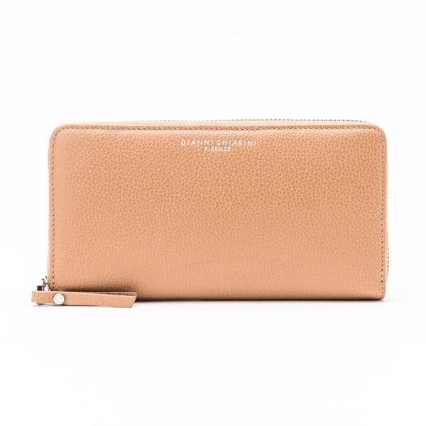Gianni Chiarini Women's Beige Leather Wallet