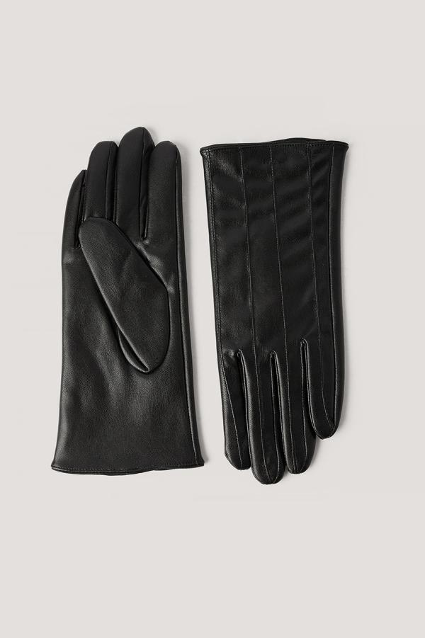 Na-kd Seamline Basic Gloves Black