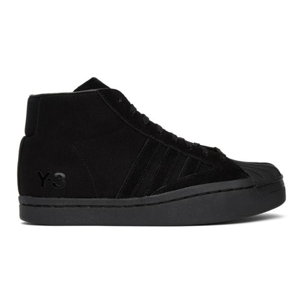 Y-3 Yohji Pro Sneakers In Black