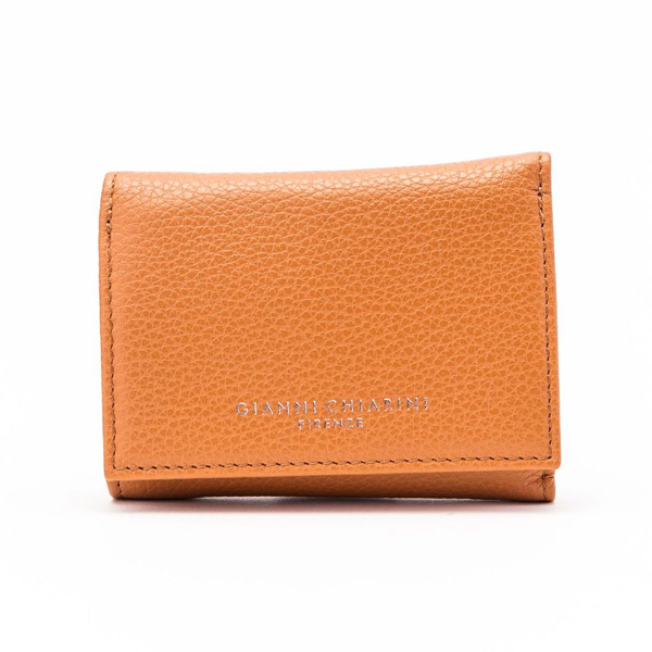 Gianni Chiarini Leather Wallet In Brown