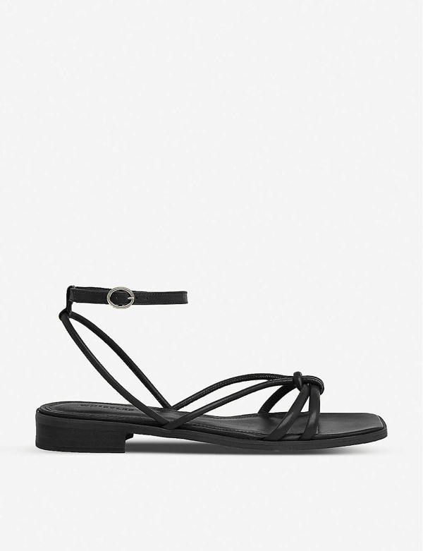 Whistles Roya Low-heeled Leather Sandals