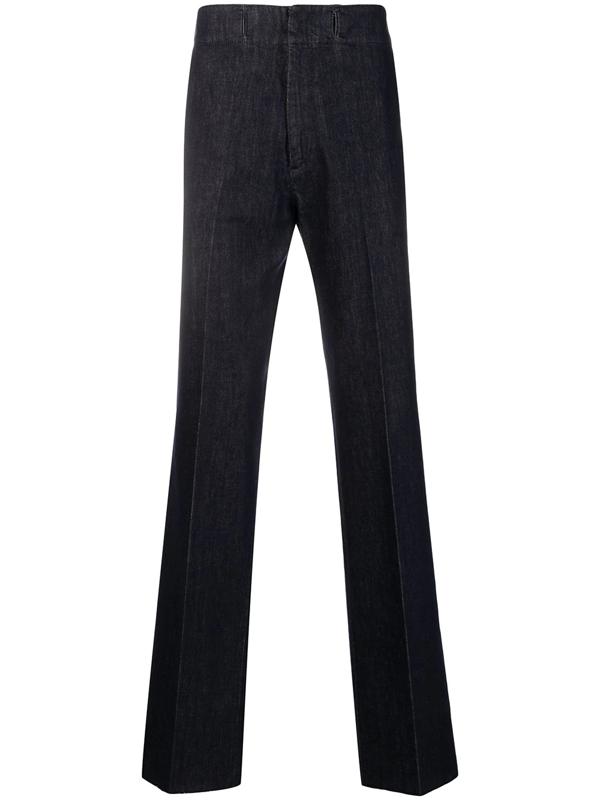 Salvatore Ferragamo Tailored Sailor Trousers In Blue