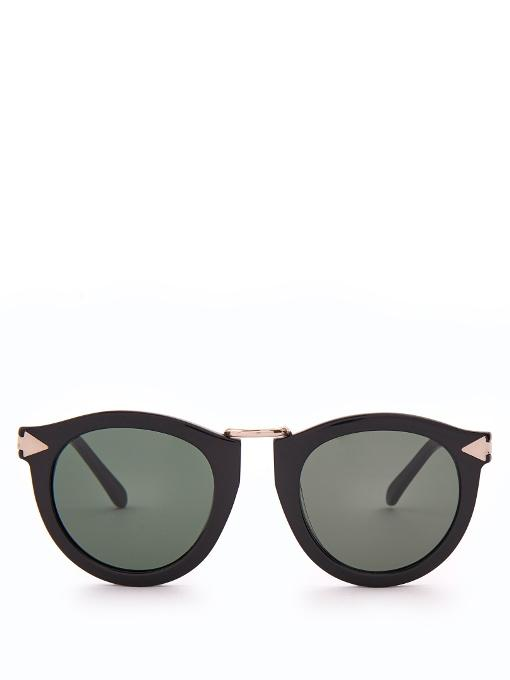 c723ea8404db Karen Walker Alternative Fit Harvest Monochromatic Sunglasses Black