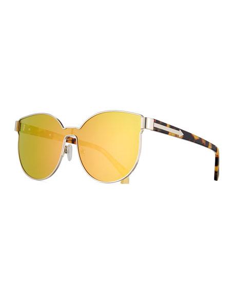 12c4e8302d74 Karen Walker Star Sailor Mirrored Sunglasses