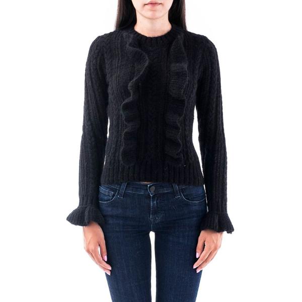 Philosophy Women's Black Wool Sweater