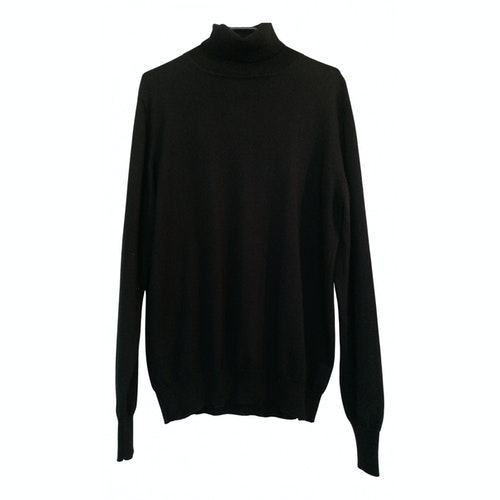 Pre-owned Azzaro Black Wool Knitwear & Sweatshirts