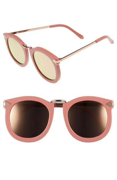 7f4a0c77fb72 Karen Walker 'Super Lunar - Arrowed By Karen' 52Mm Sunglasses In Rose Pink/