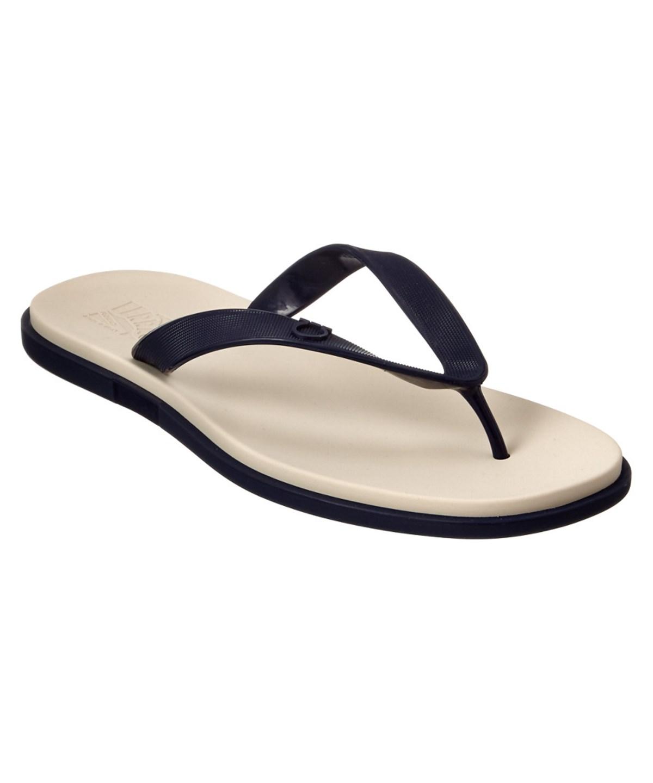 b76ba8edf18e Salvatore Ferragamo Guinea Thong Sandal  In Blue
