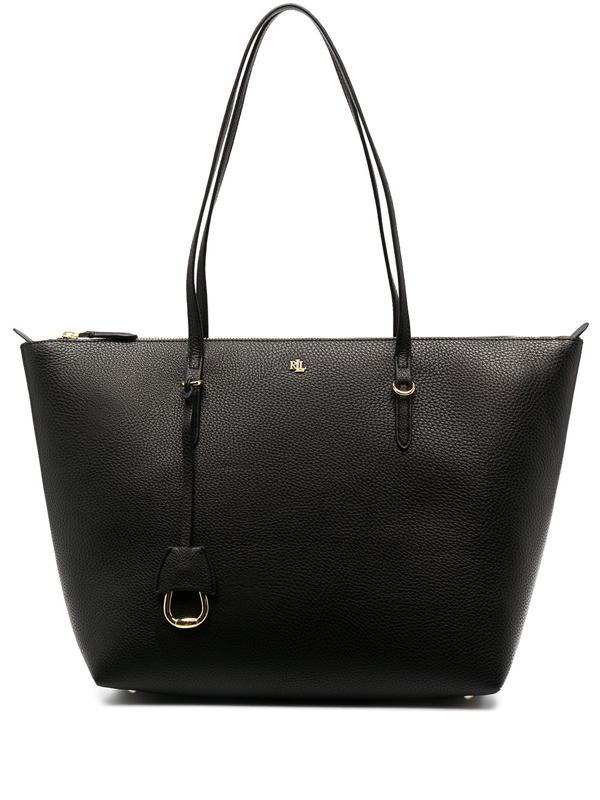 Lauren Ralph Lauren Medium Tote Bag In Black