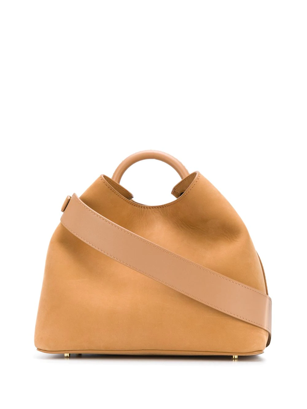 Elleme Raisin Shoulder Bag In Brown