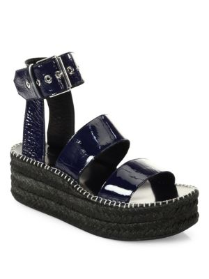 fa169ba02fb Rag   Bone Tara Espadrille Ankle Strap Sandals In Navy