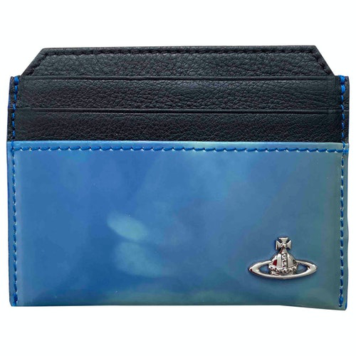 Pre-owned Vivienne Westwood Blue Leather Small Bag, Wallet & Cases