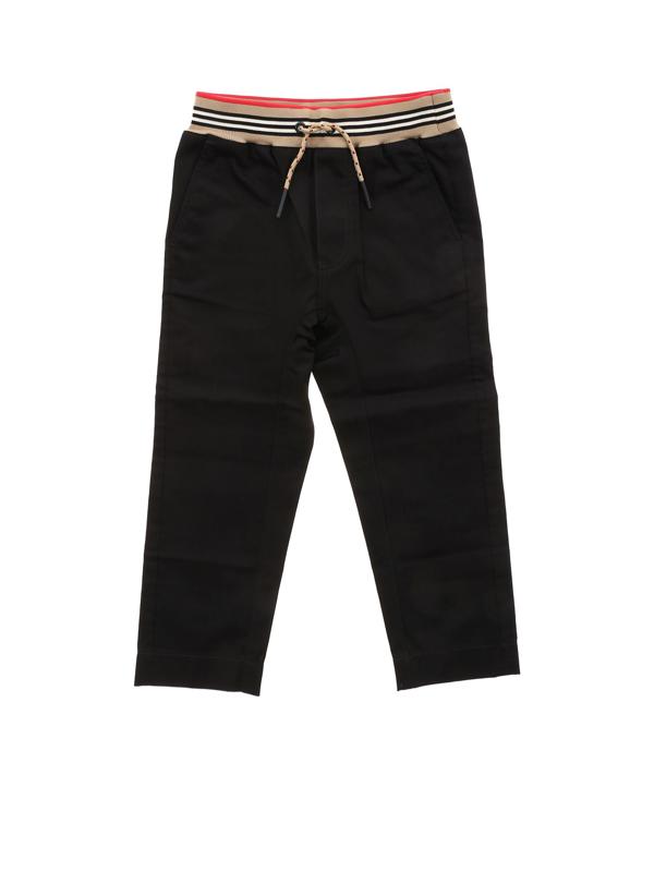 Burberry Kids' Dilan Pants In Black