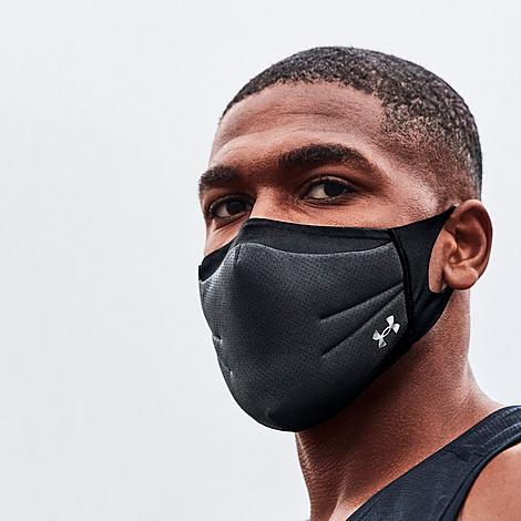 Under Armour Sportsmask Face Mask In Black